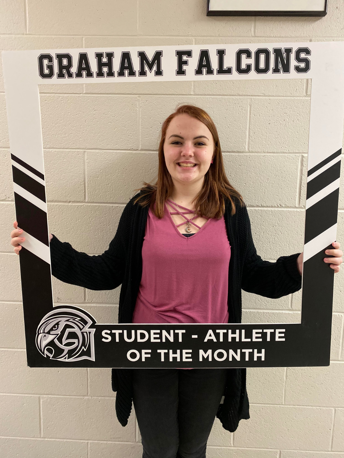 Congratulations to Paityn Dowty… January student-athlete of the month!