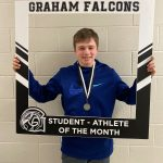 Congratulations to Eli Hollingsworth… February student-athlete of the month!