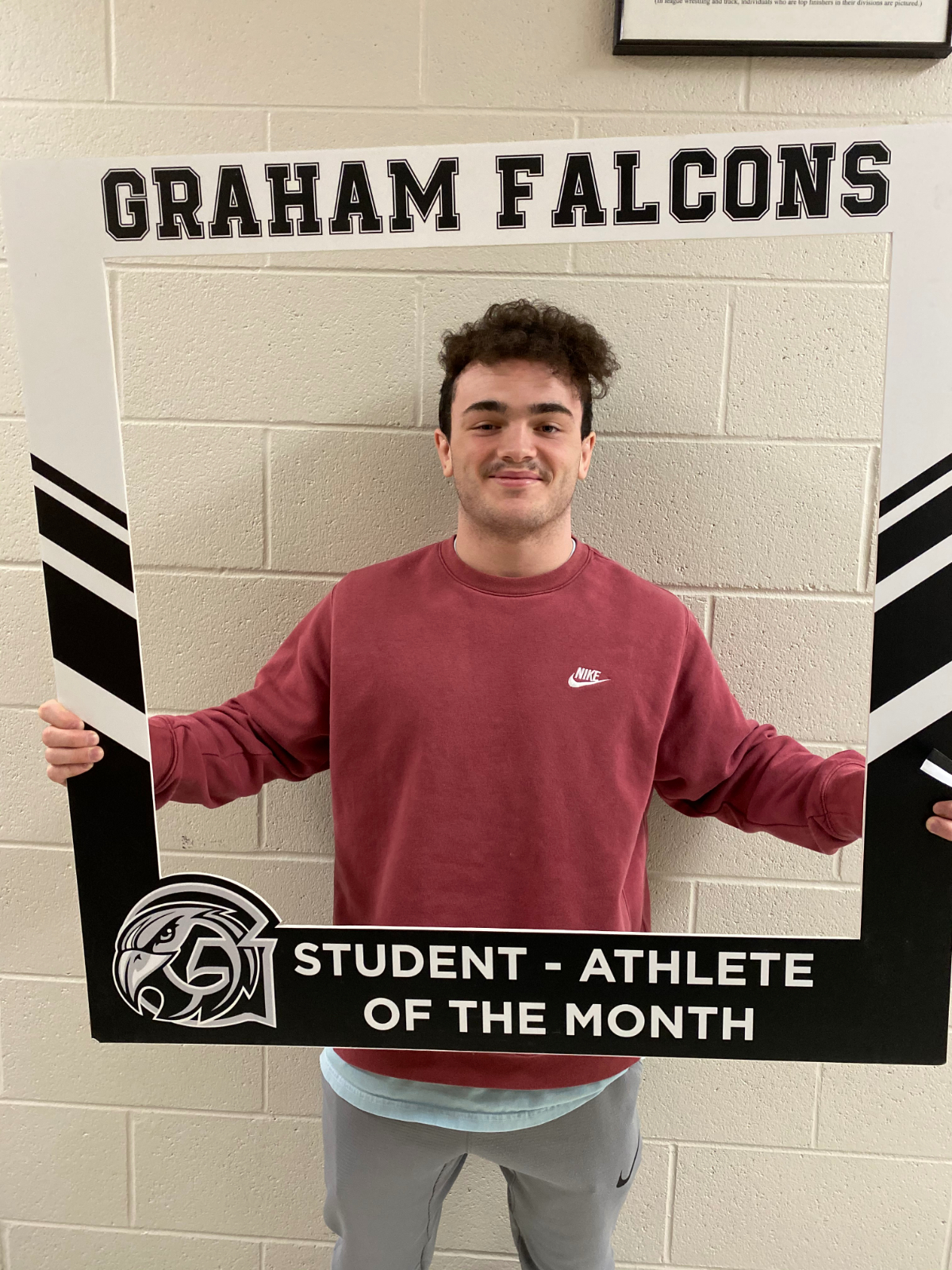 Congratulations Nick Moore.. March student-athlete of the month!