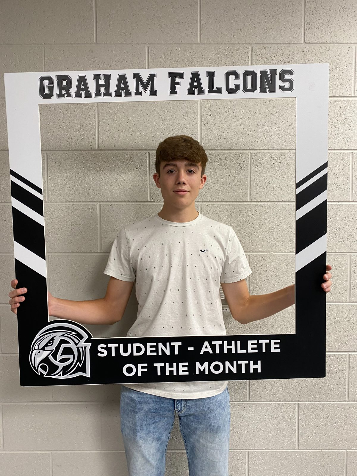 Congratulations to the November student-athlete of the month… Cayden Bonham