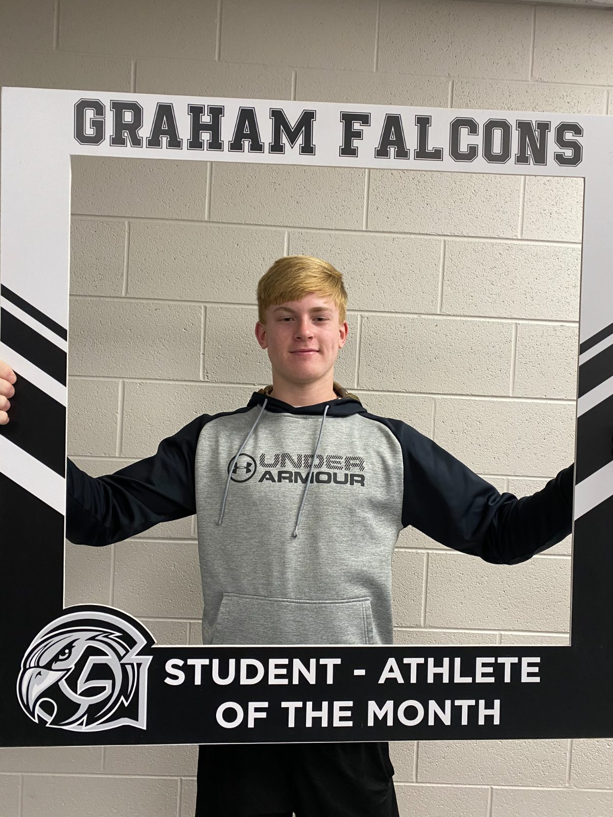 Congratulations to the November student-athlete of the month… Jayden Sells