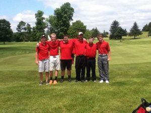 2013 Lowell Boys Golf Season
