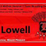 Lowell Wrestling Wins Regional Championship