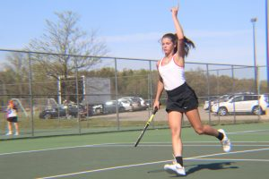 Varsity Girls Tennis vs. Byron Center (5/15/2017)