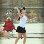 2014 Girls Tennis Pictures - Kathryn Atwood - Lowell Ledger