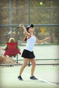2014 Girls Tennis Pictures – Kathryn Atwood – Lowell Ledger