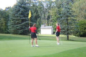 Varsity Girls Golf vs. Lakewood (8/24/2017)