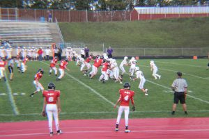 Freshman Football vs. Warren De La Salle (8/24/2017) 2nd Half