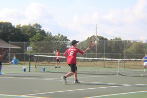 JV Boys Tennis vs. GRCC (8/30/2017)
