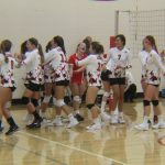 Lowell High School Girls Junior Varsity Volleyball beat Ottawa Hills High School 2-0