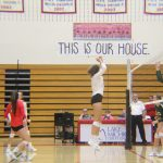 Lowell High School Girls Varsity Volleyball beat Forest Hills Central High School 3-0