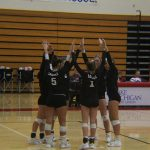 Lowell High School Girls Varsity Volleyball falls to Forest Hills Northern High 3-1