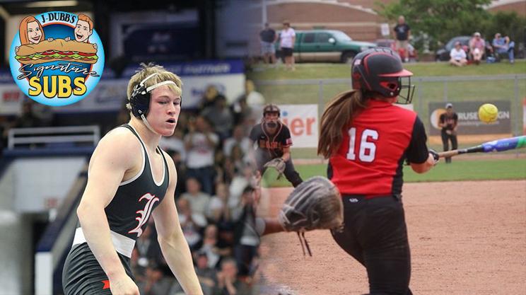 J-Dubbs' Signature Subs Senior Student-Athletes of the Week – Megan Summerfield and Keigan Yuhas