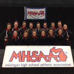 Girls Varsity Gymnastics finishes 13th place at MHSAA Finals