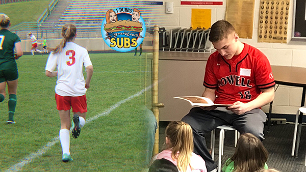 J-Dubbs' Signature Subs Senior Student-Athletes of the Week – Katherine Kroll and Garrett Pratt