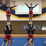 Girls Varsity Competitive Cheer finishes 3rd place at NPC Cheer Invitational