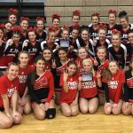 Competitive Cheer Teams finish 2nd at Wyoming Invitational