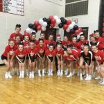 Varsity Competitive Cheer finishes 4th place at Cedar Springs