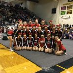 Varsity Competitive Cheer takes 5th at Districts