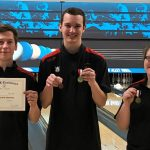 Boys Varsity Bowling finishes 5th place at OK White Conference Meet