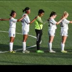 Girs Soccer Players Honored