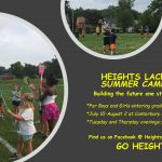 Heights Youth LAX Camp for Grades 2-9