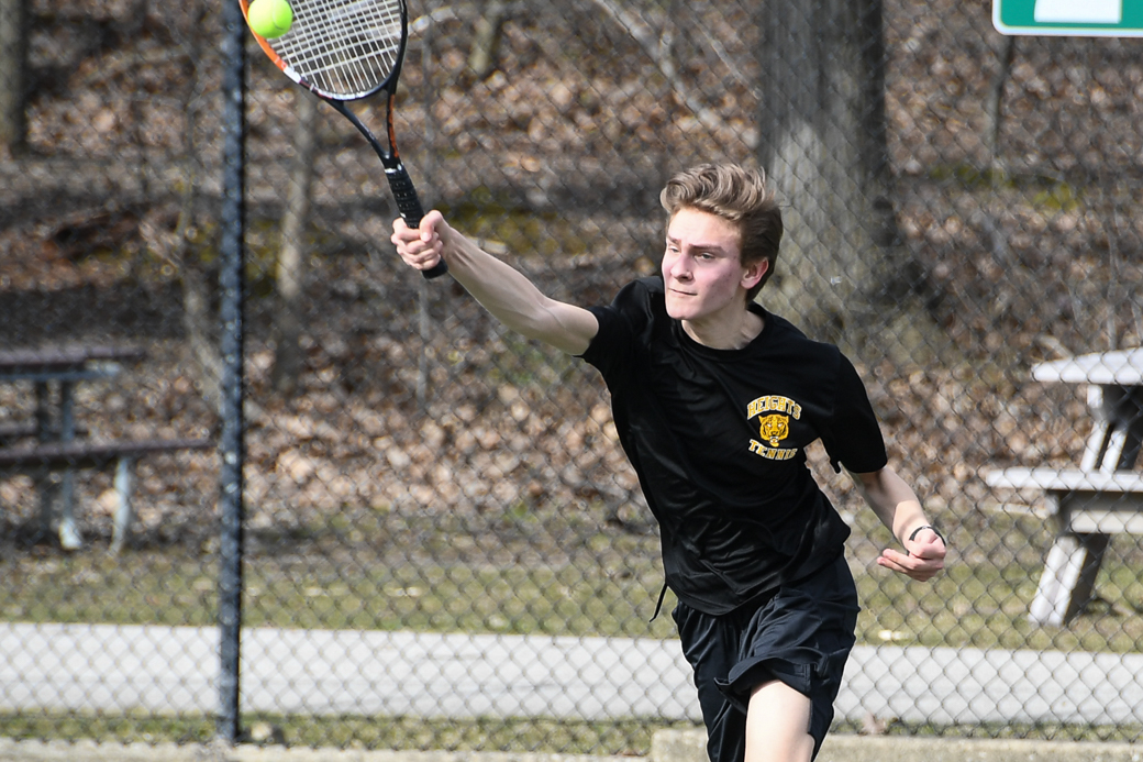 HEIGHTS BOYS TENNIS – Experience and talent give Tigers reason for optimism