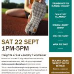 XC Fundrasier – This Saturday 1- 5pm – Let the XC Team Help You!