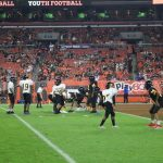 Middle School Football @ Browns Game Photos