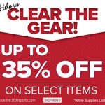 Starting now get up to 35% off select items!
