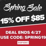 Save 15% on Orders of $85