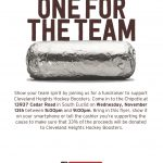 Hockey Chipotle Fundraiser