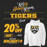 20% Off Tiger Gear