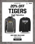 20% Off Tigers Gear