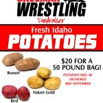 Wrestling team Idaho Potatoes