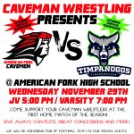 Wrestlers Dominate vs Timpanogos