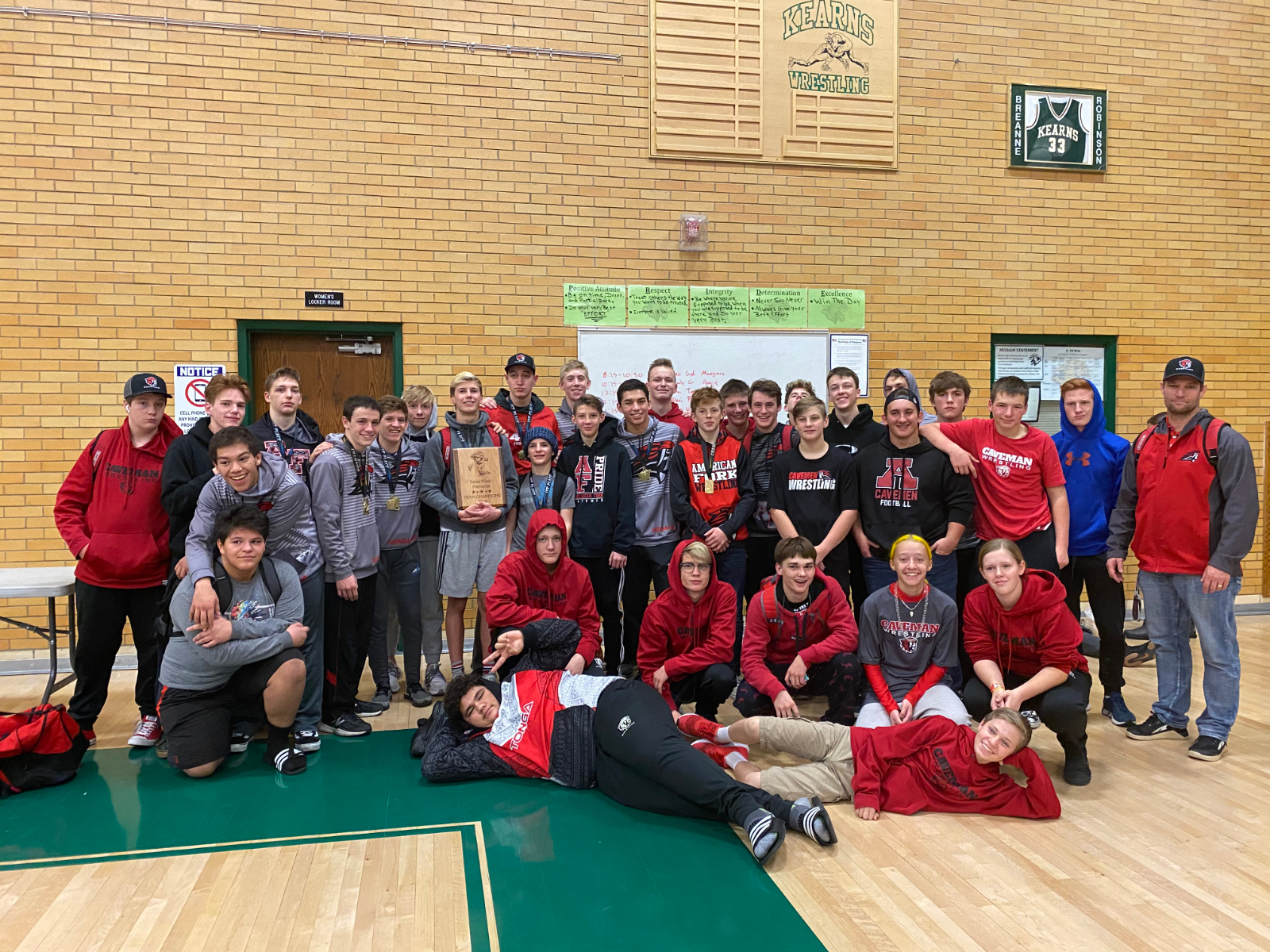 Wrestling vs Fremont and at Kawa Classic