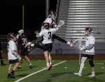 A.F. boys lacrosse wins thriller over Park City, 14-12