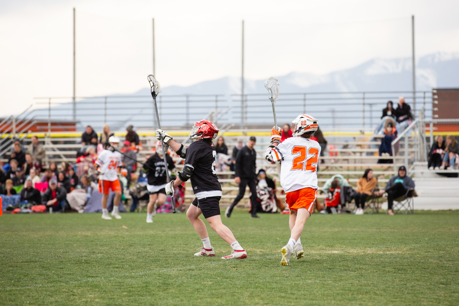 A.F. boys lax wins fifth in a row at Skyridge