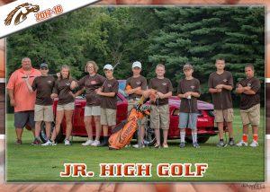 Middle School Golf