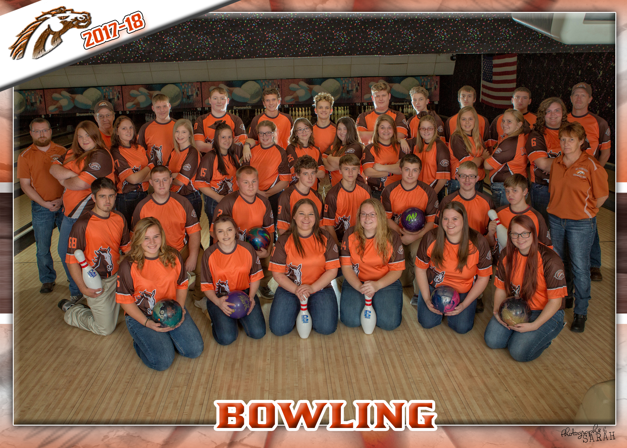 Congrats to the Girls Bowling Team