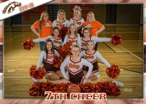 7th Grade Cheerleading