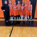 7th Grade Girls Finish Runner-Up in Girls Basketball