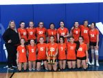 7th Grade IVC South Volleyball Champions