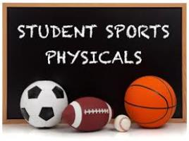 SCHOOL AND SPORTS PHYSICALS! Complete Forms Online!