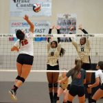 TAKE a LOOK back TUESDAY - PICS UP - @THSCougarsVB vs @ConroeHigh
