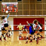 GAME PICS UP! @THSCougarsVB JV vs @Montgomeryvball JV
