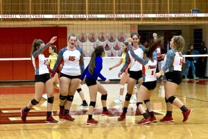 JV THS Volleyball vs JV Montgomery High School