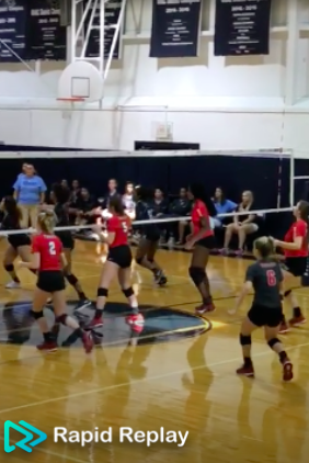 Volleyball Video Highlight: Cougars Win!