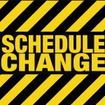 Football Schedule Change for Thursday 10/4…